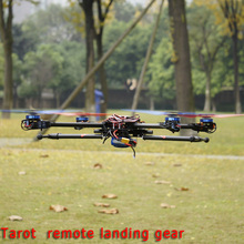1 Pair Tarot-rc Drone Accessories Diy Tarot 650 Iron Man 680Pro Fy680 Fy690S Frame 16mm Rc Tarot Retractable Landing Gear Set(China)