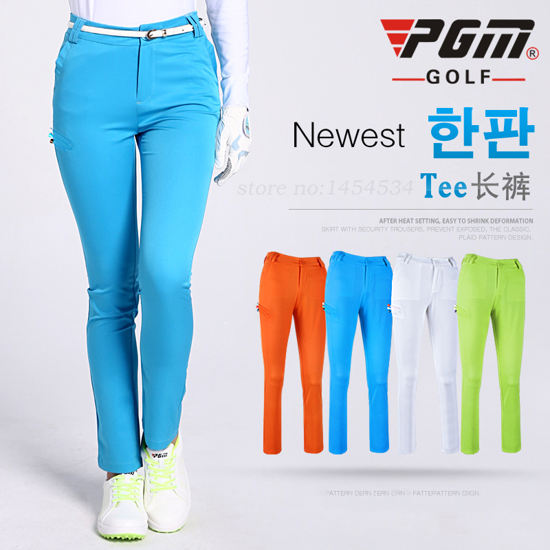 020235 PGM Golf Women Clothes Pants High Quality Korean Lady Sport Slim Stretch Trousers Soft Breathable Quick Dry Breathble<br><br>Aliexpress