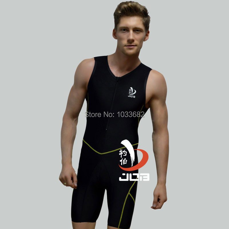 Job mens one piece professional swimwear  Mens training racing  Swimming bodysuit Competitive Swimming Suit Plus Size <br>