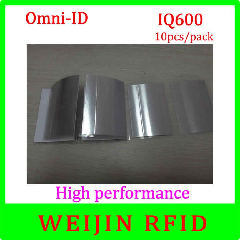 Omni-ID IQ 600 10pcs per pack UHF RFID flexible anti metal tag 915M EPC can be printed free shipping<br><br>Aliexpress