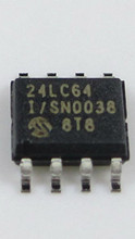20pcs 24LC64B-I/SN SOP-8 24LC64BI 24LC64 24LC64I 64K I2C Serial EEPROM new original free shipping