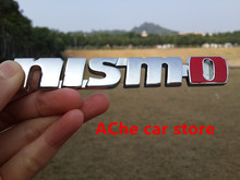 Free shippin 3D NISMO sticker badge emblem car logo rear trunk Car styling auto accessories(China)