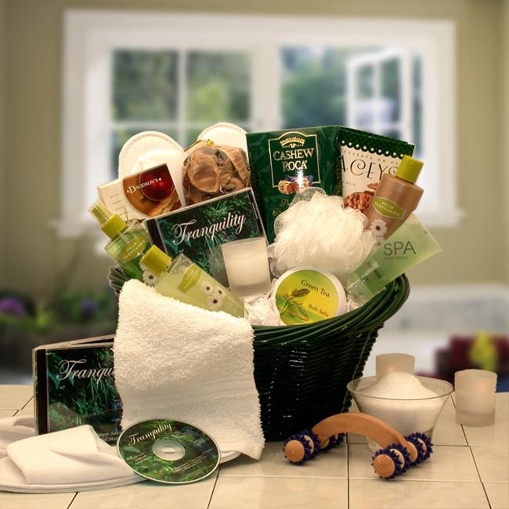 Gift Basket Drop Shipping Spa Luxuries Gift Basket