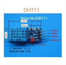Free shipping (10 pcs/lot) 100% new Bus digital temperature and humidity sensor DHT11 module  electronic building blocks