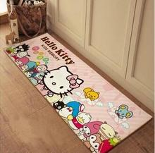 Hello kitty carpet flannel bedroom kitchen rugs long living room mat long balcony mats 10 designs