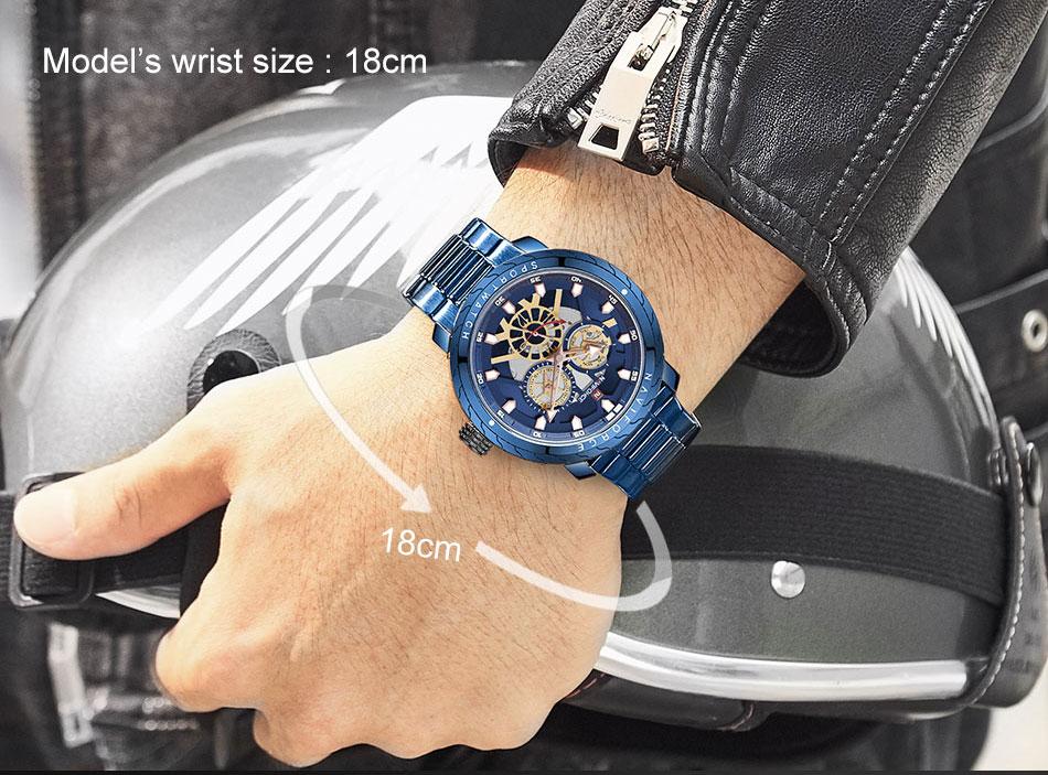 NAVIFORCE NF9158 Stainless Steel Watch 8