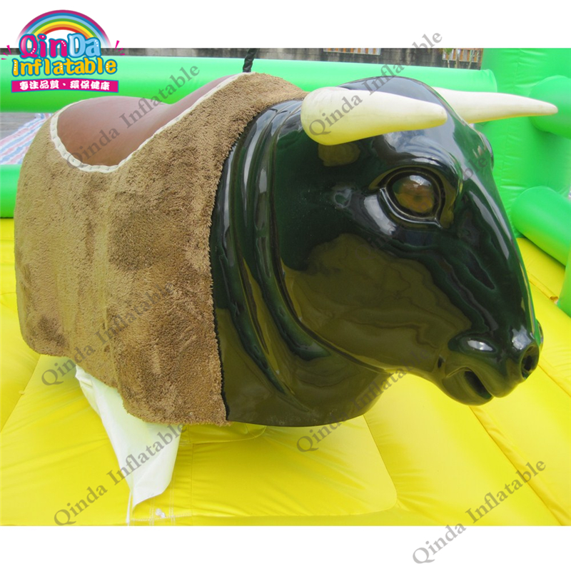 inflatable mechnical bull mat17