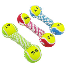 23cm Pet Dog Chew Toys for Small Large Dogs Tennis Ball Training Toys Dog Products 10b40