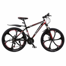 "Altruism Q7 Mountain Bike 21 Speed Aluminum MTB 26"" Bicycle Braking Bikes for Mens Road Racing Black Bicycle(China)"
