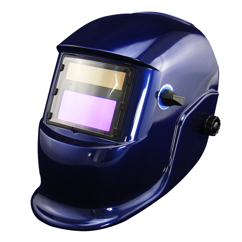 Blue Li Battery+Solar auto darkening filter weld helmet/eye mask for MIG MAG CT TSC KR welding machine and LGK cutting tool<br>