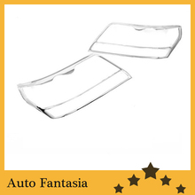 Auto Chrome Parts Chrome Head Light Cover for Suzuki Grand Vitara 05-12-Free Shipping(China)