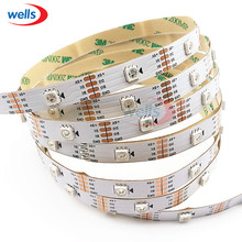 New 1m/5m WS2813 Smart led pixel strip,Black/White PCB,30/60 leds/m WS2813 IC;better than WS2812B strip,IP30/IP67 DC5V