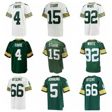 Men's Reggie White Brett Favre Bart Starr Paul Hornung Ray Nitschke jerseys(China)