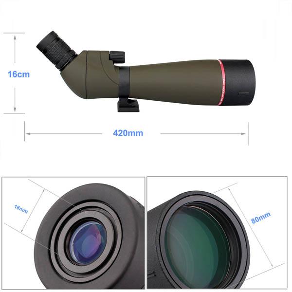 Svbony Spotting Scopes Multi-Coated Optics 20-60x (13)