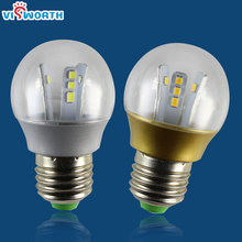 3W LED lamp E27 led bulb SMD 2835 Epistar ultra bright 360 degree corn light Warm Cold white led light free shipping(China)