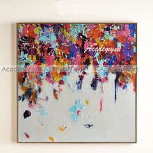Abstract oil painting modern decorative painting fashion the style of the board decoration