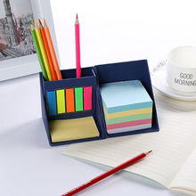 NEW Fashion Paper Box with Stickers Labels Sticky Note Stationery Pen Container Diary Bookmarks School Suppies Creative Gifts