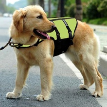 High Quality Pet Life Jacket Dog Pet Swimwear Preserver Breathable Dog Swimming Life Vest Safety Suit Pet Clothes
