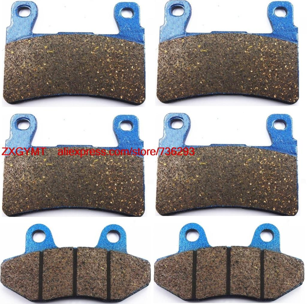 Motorcycle Semi Metallic Disc Brake Pads Set fit for HYOSUNG GT650 GT 650 i Naked 2015 &amp; up<br><br>Aliexpress