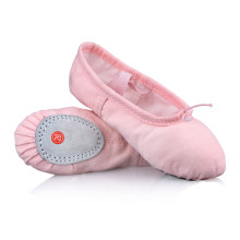 dance ballet shoes Flats Designer Soft embroidered butterfuy satin ballerina Shoes chaussons danse ballet 4037(China)
