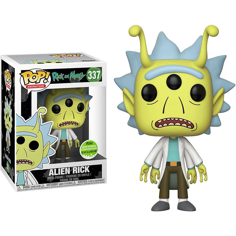 Alien Rick Vinyl Action Figure