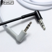 10pcs 3.5mm Stereo Headset Plug 3 pole 3.5 Nickel Plated Right Angle Black White Audio Plugs Double Channel Adaptor Connector(China)