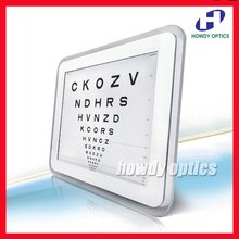 New! C-901 17'' top grade LED Vision acuity chart CE approval(China)