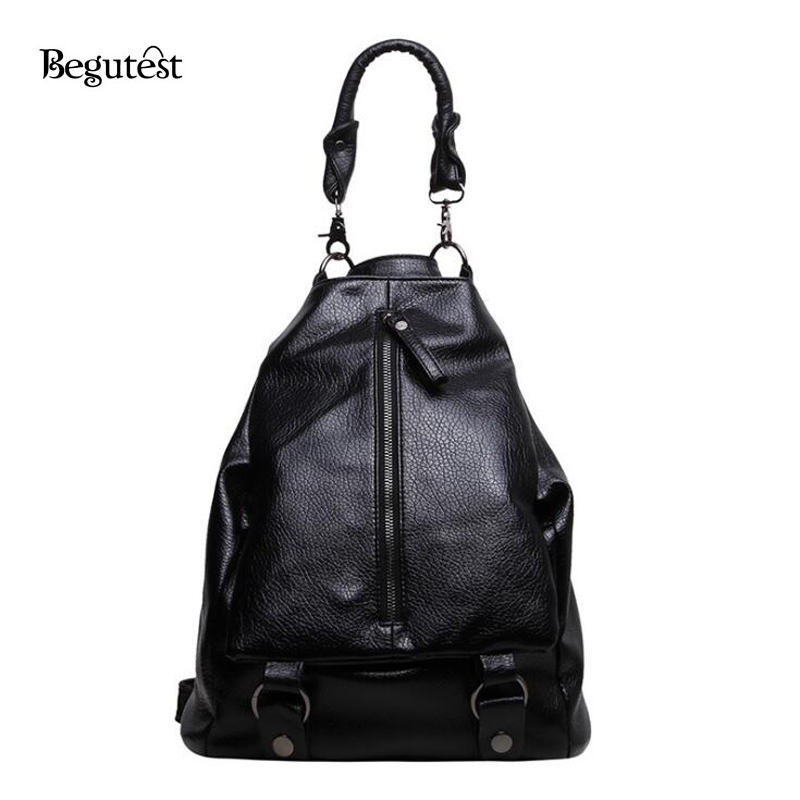 2017 Korean Fashion Women Backpacks High Quality PU Leather Backpacks For Teenagers School Bag Vintage Ladies Bag Feminina <br><br>Aliexpress