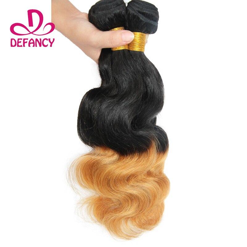 Ombre Brazilian Virgin Hair Body Wave 2pcs Unprocessed Human Hair Extension Virgin Brazillian Hair Body Wave Hair Weave Bundles<br><br>Aliexpress