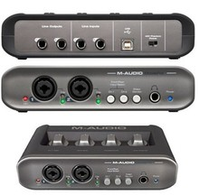 Original New M-AUDIO MobilePre MOBILE PRE MKII MK2 USB Sound card Audio Interface professional