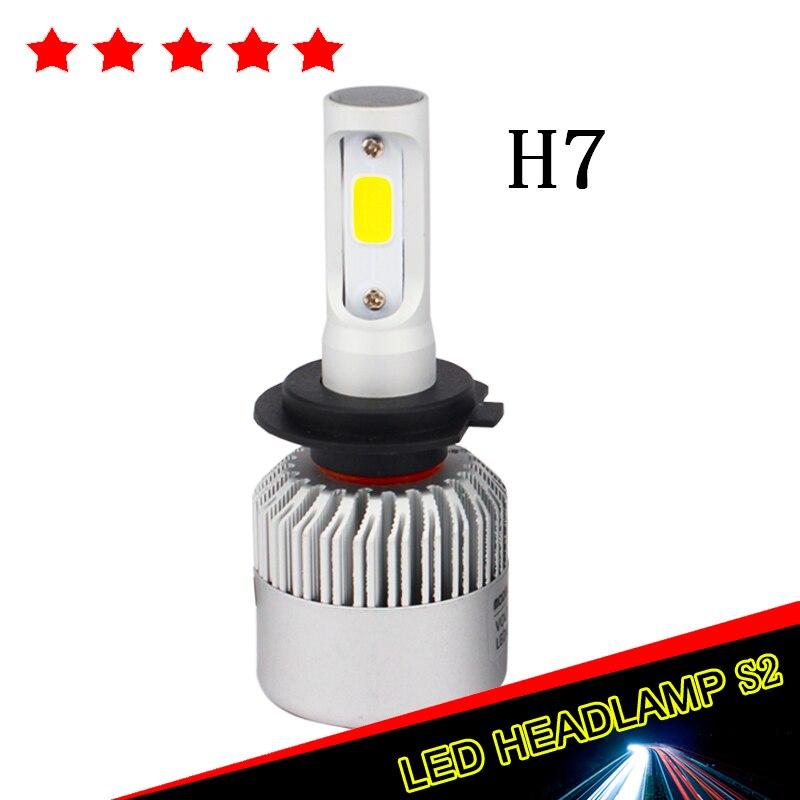 8000LM H7 Led Car Headlight COB Chip Auto Canbus Xenon 12V 72W Hi Lo Beam Bulb DRL Fog Halogen Aluminum Car Headlamp Kit 2pcs<br><br>Aliexpress