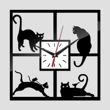 2017 new wall clock quartz watch large decorative diy clocks acrylic mirror modern reloj de pared 3d stickers living room europe(China)