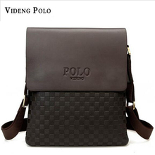 2017 New Fashion Business Bags Brand POLO Men's Travel Shoulder Bags Small Messenger Bags Men's Crossbody Bags M208(China)