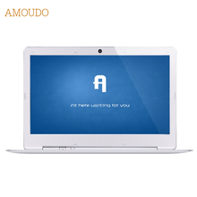 Amoudo 14 inch 4GB Ram+64GB SSD Windows 7/10 System 1920X1080P FHD Drawing Case Intel Quad Cores Laptop Notebook Computer