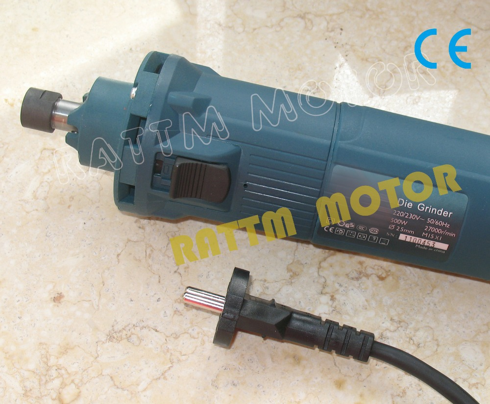 500W Air Cooled Miling motor AC 220V Spindle Motor with 6mm collet for CNC mini machine<br><br>Aliexpress