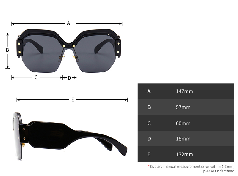 square half frame sunglasses women brand designer 2018 luxury 5029 details (2)