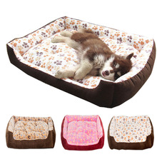 Top Quality Large Breed Dog Bed Sofa Mat House 3 Size Cot Pet Bed House for large dogs Big Blanket Cushion Basket Supplies(China)