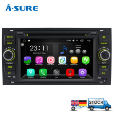 "A-Sure Android 6.0 7"" DAB+ DVD Radio Player GPS sat nav Navigatio for FORD TRANSIT FOCUS C-MAX S-MAX FIESTA GALAXY FUSION WiFi"