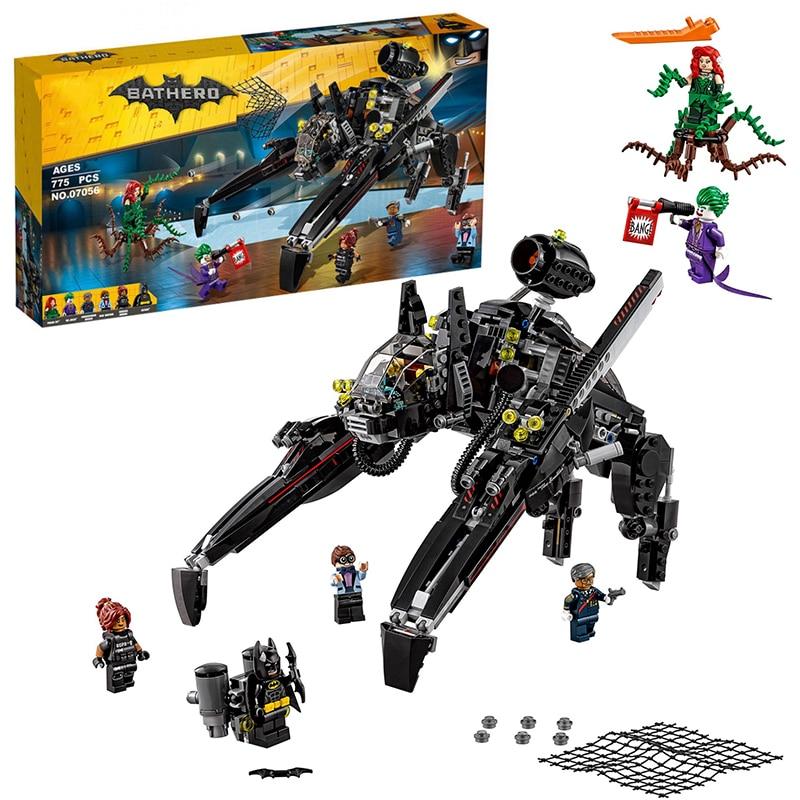 Lepin 07056 Super Heroes Batman The Scuttler building Blocks New year Gift Toys for children Bela Decool 70908<br><br>Aliexpress