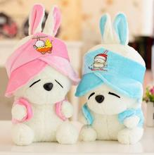 ++SST* MashiMaro Plush Stuffed Rabbit Cute Korea Rabbit Plush Stuffed Toys Doll Children Gift Birthday Present Two Colors for ch