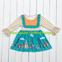 Discount ON SALE thanksgiving dress hot sale high quality cotton dress(China)