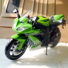 MAISTO 1/12 Scale Japan Motorbike Kawasaki Ninja ZX-10R Diecast Metal Motorcycle Model Toy New In Box For Collection/Gift/Kids
