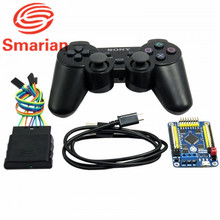 Official smarian 32 Channel Servo Control Board & Robot PS2 Controller & Receiver Handle for Arduino Robot DIY Platform