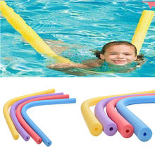 6*150cm Floating Pool Noodle Swimming Kickboard Hollow Learn Foam Water Float Aid Woggle Swim Flexible Row Ring(China)