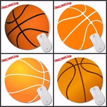 Design Football Mouse Pad Round Pad To Mouse Notbook Computer Mousepad Gaming Padmouse Laptop Gamer Play Mat Round 200MM(China)