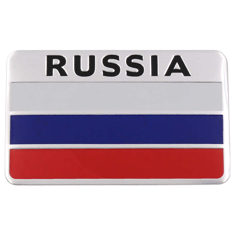 Stylish-3D-Aluminum-Russian-Flag-Pattern-Square-car-Stickers-Decal-Car-Window-Door-Durable-to (2)