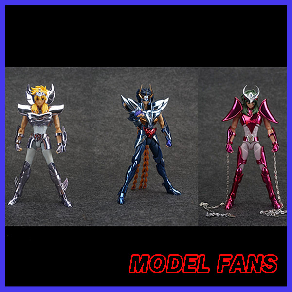 MODEL FANS INSTOCK TJ model ex Phoenix ikki v3/ex Andromeda shun V3/ex Cygnus v3 Hyoga metal armor Myth Cloth Action Figure<br>