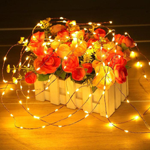5M 50/10M 100 led USB led string light DC5V Copper String Fairy Light 8 Mode Holiday Lamp For Party Wedding Christmas Decoration(China)