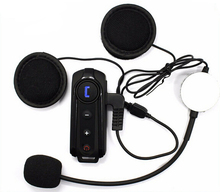 New 1000M Interphone Bluetooth Motorcycle Bike Helmet Sports Headset Intercom with FM Function