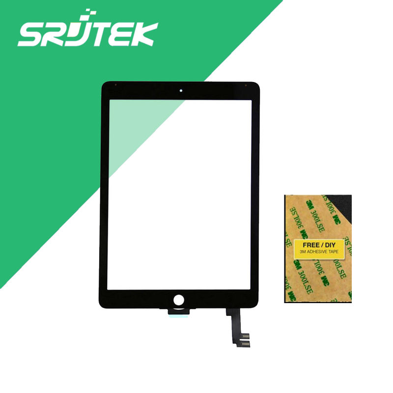 For iPad Air 2 ipad 6 Touch Screen Digitizer Glass Replacement For ipad6 A1566 A1567 Without Home button Free Shipping<br><br>Aliexpress